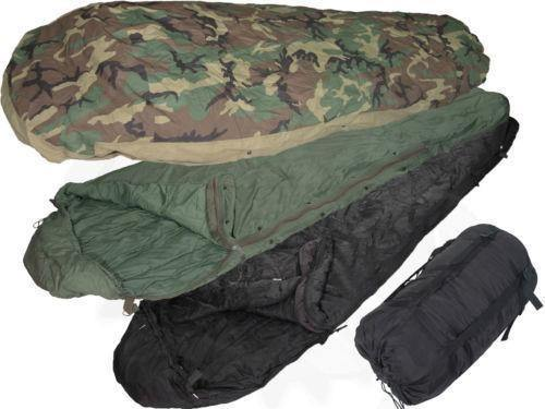 Army Sleeping Bags Green And Black