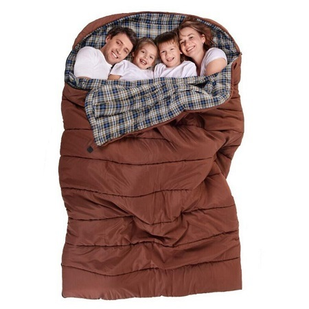 Large Sleeping Bag Four Persons