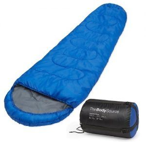 body source mummy sleeping bag image