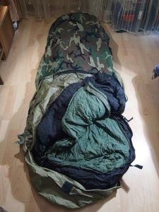tennier industries mummy style sleeping bag image